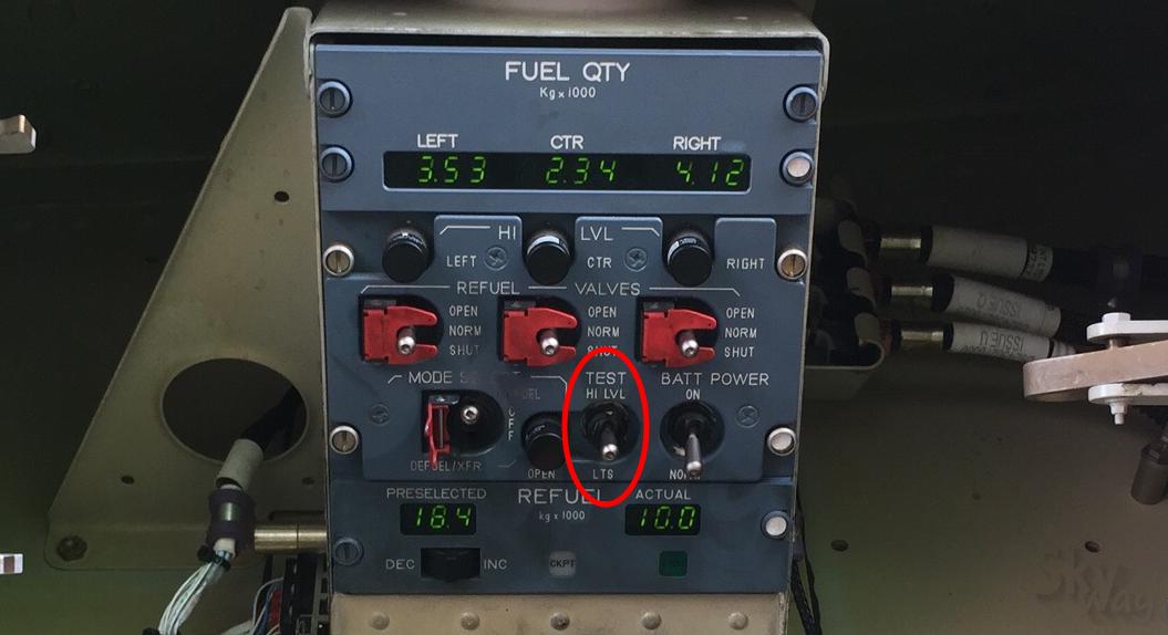fuel panel a320 топливная панерь а320